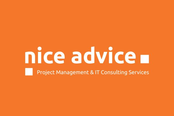 nice advice Logo negativ