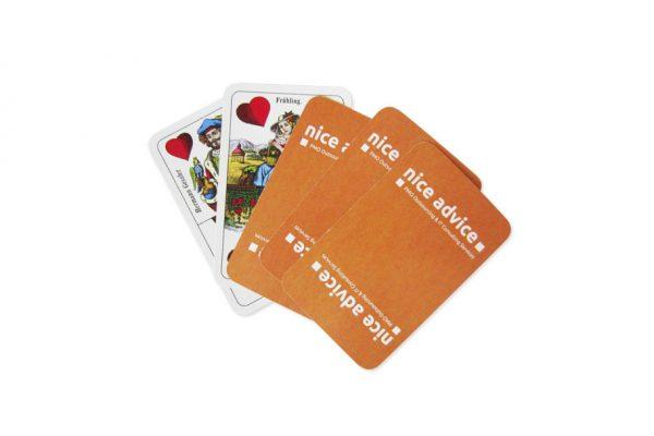 nice advice Spielkarten